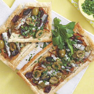 Sardine and Olive Tart Recipe