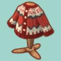 あかいアイスランドなセーター