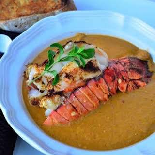 Fresh Herb & Curry Lobster Bisque.