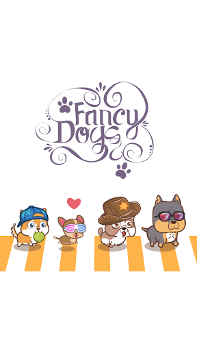 Fancy Dogs - Cute dogs dress up and match 3 puzzle modavailable screenshots 1