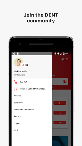 DENT - Send mobile data top-up for PC