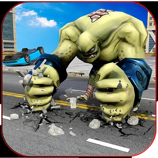 Monster Battle in City