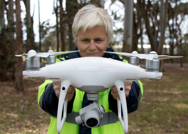 Environmental scientist Louise Jupp is a licensed drone pilot who has written a book called 'Precision Farming from Above', which can help modern farmers manage their crops and farms more profitably
