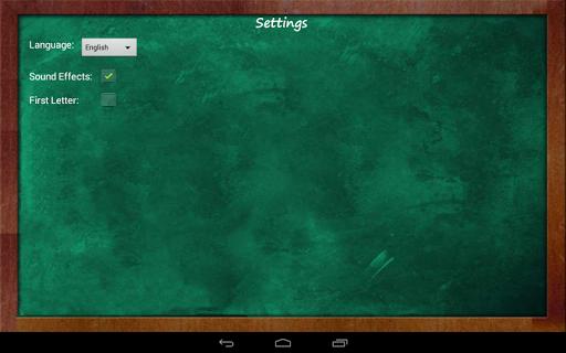 Educational Hangman in English  screenshots 12