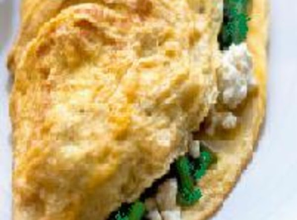 Feta And Fresh Basil Omelet Recipe