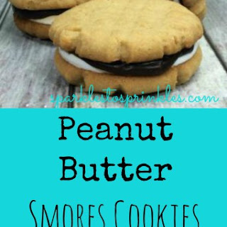Peanut Butter Smores Cookies.