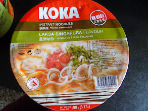 Photo: We brought it from the Food Hall in Phenix Marketplace shopping mall. Still long way to go to beat the real Laksa Singapura on the street. We can find varieties of KOKA and MAMA instant noodle packages from Thailand and Singapore at Dorabjee's and Food Hall.  26th August updated (日本語はこちら) - http://jp.asksiddhi.in/daily_detail.php?id=640