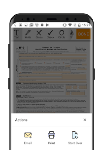 W-9 PDF Form for IRS: Sign Income Tax Return eForm App Download For Android 3