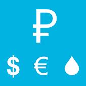 Курс доллара/евро виджет Zenfy