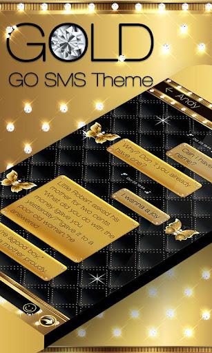 GO SMS PRO GOLD THEME
