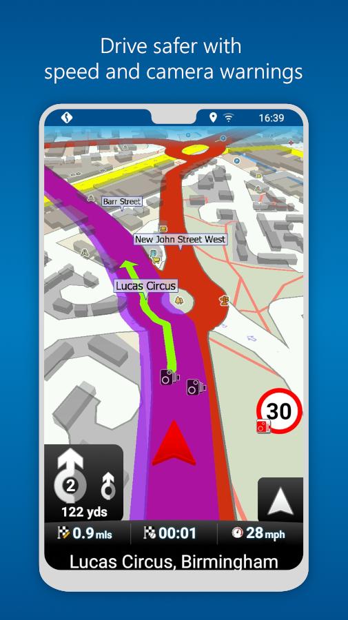 MapFactor GPS Navigation Maps Screenshot 4