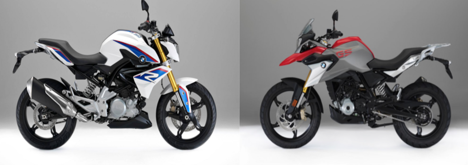 BMW G310 R and G 310 GS