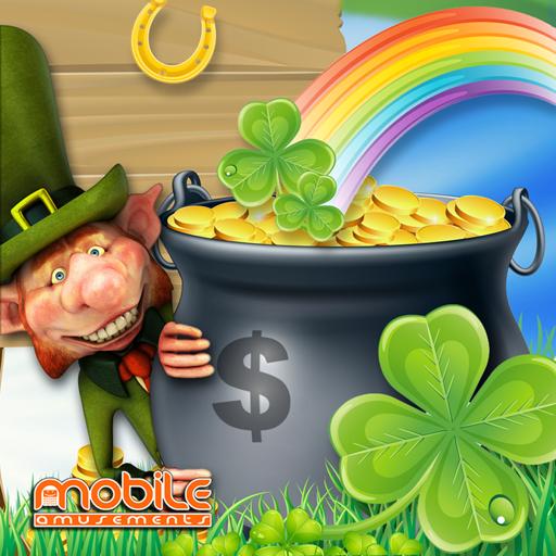 Crock O'Gold Rainbow Leprechaun's Luck Slots FREE (game)