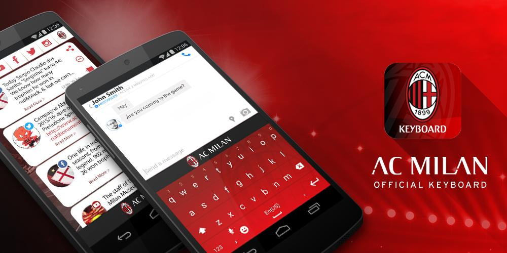AC Milan Official Keyboard - Android Apps on Google Play