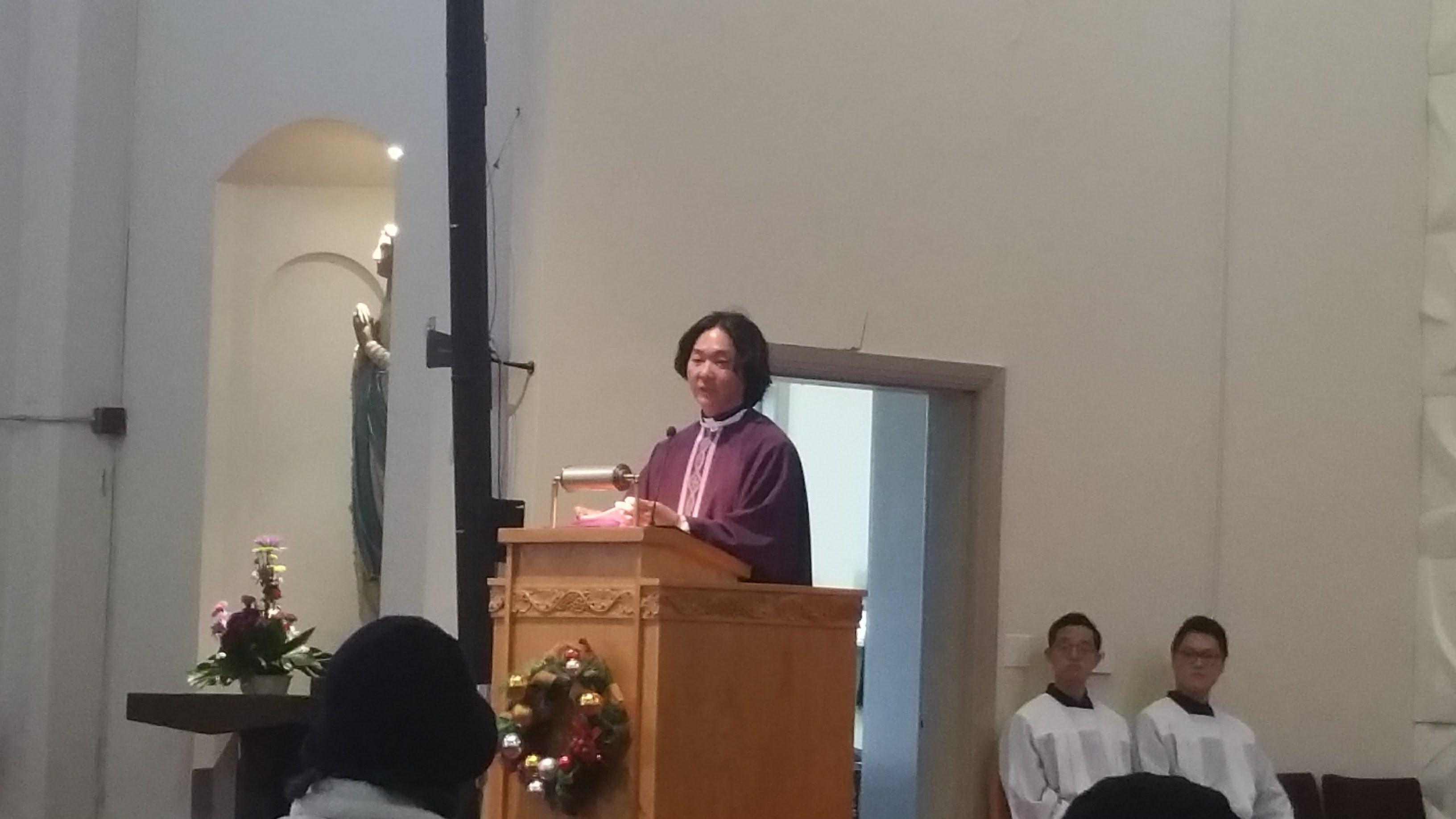 몬트레이 성당 채창석 신부 대림특강