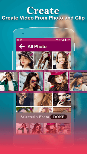 Photo Video Maker With Music-Movie Maker 5.3 screenshots 1