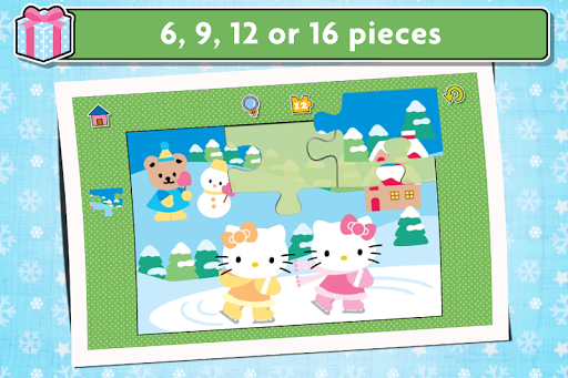 Hello Kitty Christmas Puzzles - Games for Kids ?