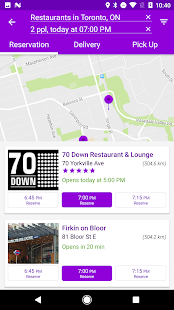 YP Dine - Restaurant Finder- screenshot thumbnail