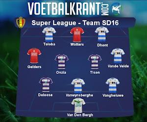 Ons team van speeldag 16 in de Super League ziet er als volgt uit