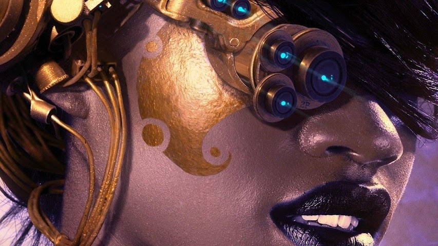 android Steampunk.Cyberbabes.Wallpaper Screenshot 5