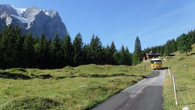 Photo: Postbus-on kivül motorizáció kitiltva