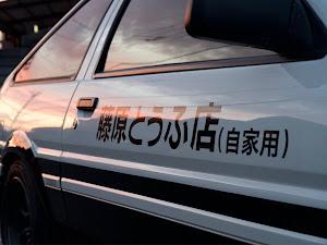 スプリンタートレノ AE86 S61•GT-APEXのカスタム事例画像 ささき ゆーまさんの2020年06月26日22:02の投稿