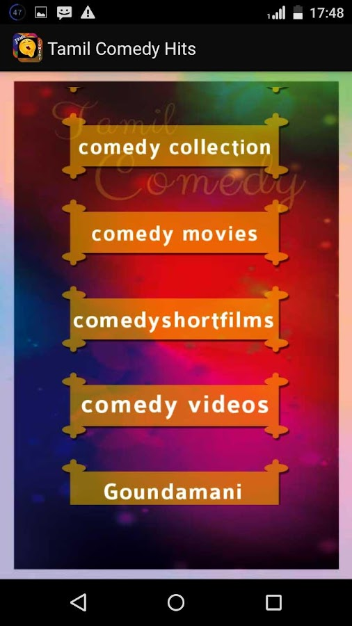 Tamil Comedy Hits - Android Apps on Google Play