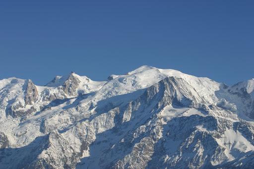 Mont-Blanc depuis plaine joux