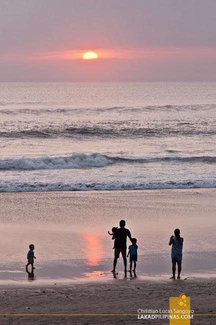 Alila Seminyak Bali Sunset