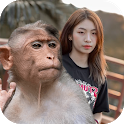 Photo With Monkey - Monkey Wallpapers icon