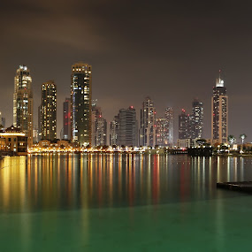 Dubai Mall by Avi Chatterjee - City,  Street & Park  Street Scenes