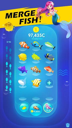 Fish Merge! Aquarium  code Triche 2