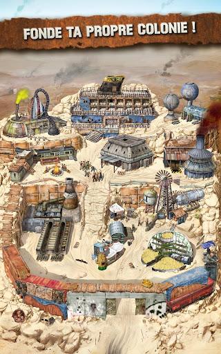 Code Triche Crazy Tribes - MMO de stratu00e9gie apocalyptique APK MOD screenshots 2
