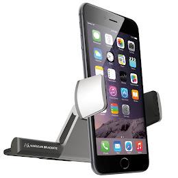 Suport telefon Maclean MC-782 cu prindere la CD player, din aluminiu si ABS