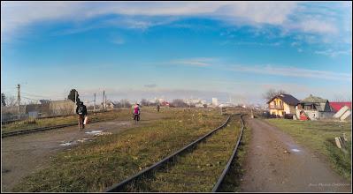 Photo: Vedere panorama din zona strazii Fabricii - 2017.12.29