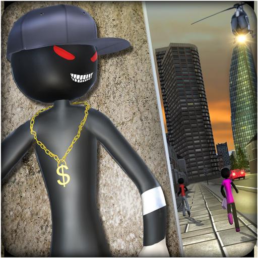 Vegas Gangster Stickman Crime City