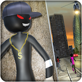 Real Gangster Vegas Stickman Crime Simulator