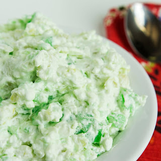 Green Jello Salad.