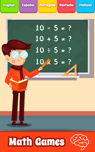 Math Games, Learn Add, Subtract, Multiply & Divide 9.1 screenshots 1