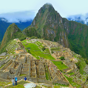 Machu Picchu by Tomasz Budziak - City,  Street & Park  Historic Districts ( peru, machu picchu, historic district, city )
