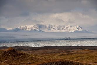 Photo: La mega lengua glaciar.