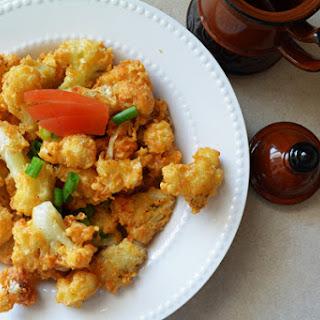 Cauliflower Golden Fry-snacking.