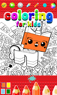 Coloring Book Lego Toys - náhled