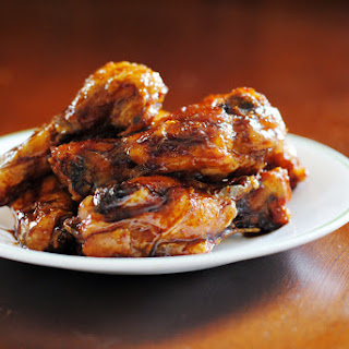 Honey Ginger Baked Chicken Wings