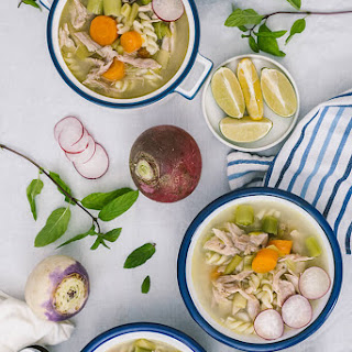 Winter Vegetable Chicken Noodle Soup Recipe