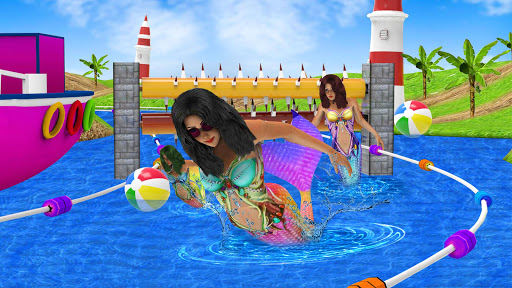 Mermaid Race 2020: Real Mermaid Simulator Games 3d  screenshots 6