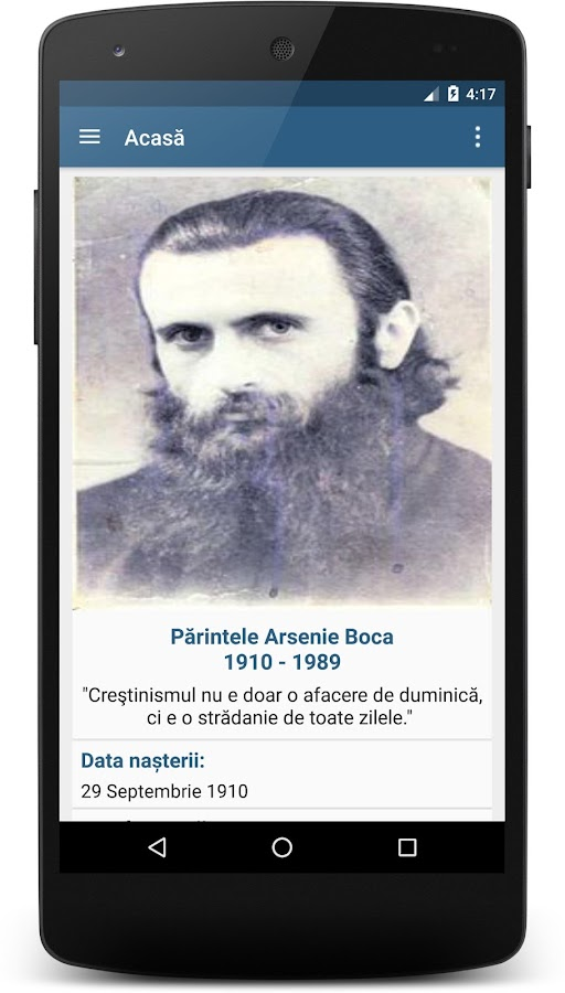 Părintele Arsenie- screenshot