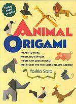 Photo: Animal Origami Sato, Yoshio Kodansha 1997 paperback 48 pp ISBN 4770020775