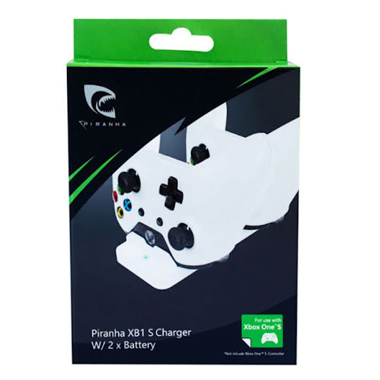 Piranha Xbox One S Charger & 2X battery