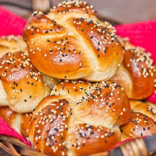 Portuguese Sweet Bread Rolls.